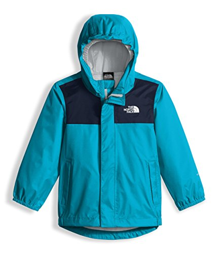 The North Face Toddler Tailout Rain Jacket - Turquoise Blue - 2T