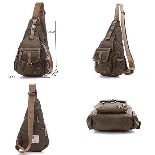 DDDH Sling Bag Shoulder Backpack Chest Pack Military Crossbody - Import It  All c655849d5b