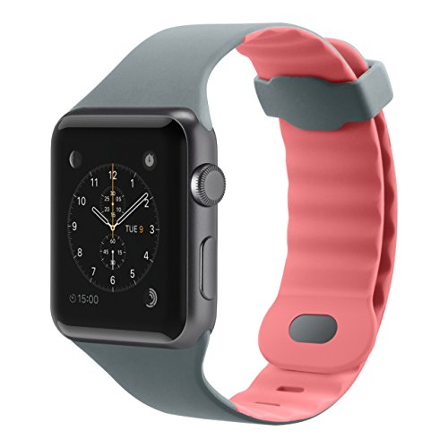 Belkin Sport Wristband for Apple Watch Edition/Apple Watch Nike+ / Apple Watch Series 1/ Apple Watch Series 2 / Apple Watch Series 3 / Apple Watch Sport, Carnation Pink by Belkin