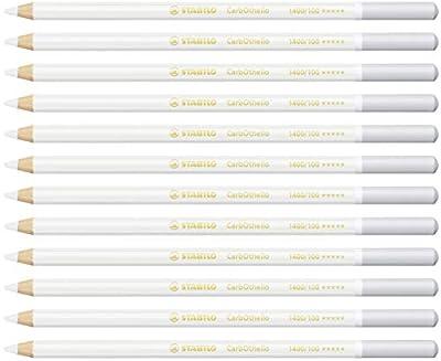 1 Stabilo CarbOthello Pastel Pencil, Individual No. 100 - Titanium White