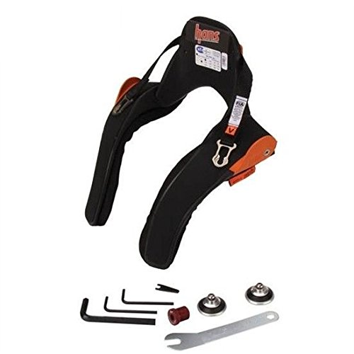 HANS Adjustable Head & Neck Support Device- Medium, Post Anchor, SA Helmet ()