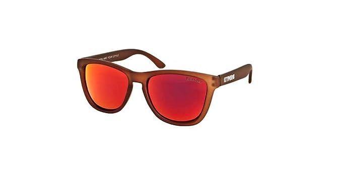 KYPERS Caipirinha Gafas de Sol, Matte Brown-Orange Mirror ...