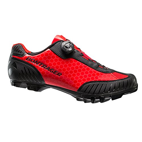 Bontrager Foray MTB Fahrrad Schuhe rot 2016