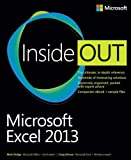 Microsoft Excel 2013 Inside Out 1st Edition