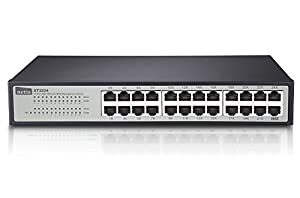 Netis 24 10/100Mbps RJ45 Ports Fast Ethernet Web Management Switch, Auto-Negotiation & Plug & Play (ST3224)