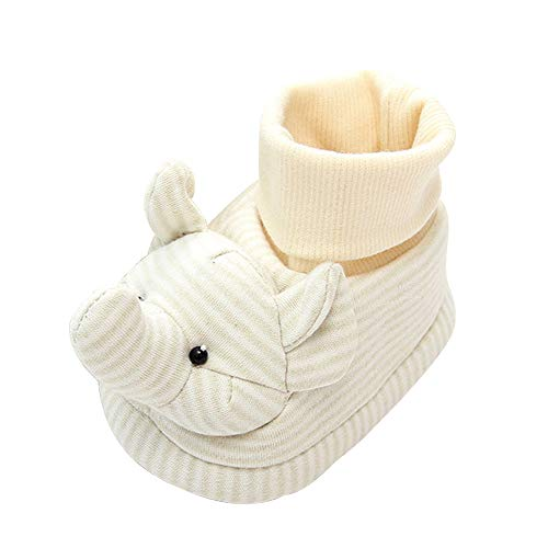 Fineser Baby shoe,Clearance Winter Cute Children Toddler Baby Boy Girl Cartoon 3D Animal Shoes Anti-Slip Tall Home Shoes 4-6 (A, 4 US)