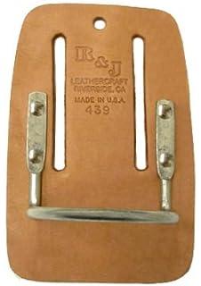 R & J Leathercraft 04395 Leather Hammer Holder Steel Cradle Loop ...