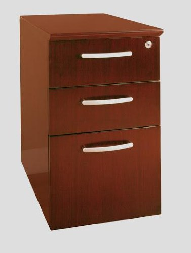 Mayline Group Pedestals (Box-Box-File) Sierra Cherry Veneer