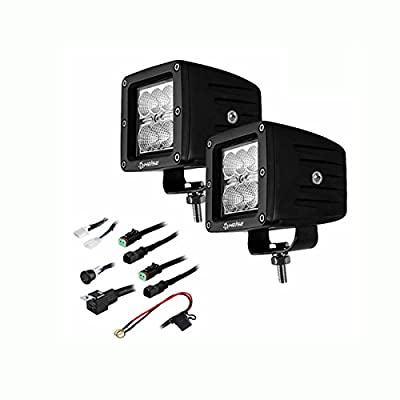 Heise LED Lighting HE-CL32PK 3 INCH 6 LED CUBE 2 LIGHT KIT