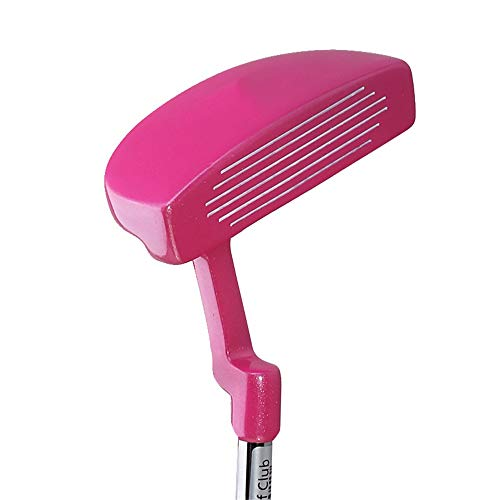 Golf Practice Putter Pink Ladies Golf Putter Children's Golf Clubs Beginners Practice Pole Right Hand Left Hand Used Golf Practice Club for 3-12 Years Old Girls (Left Handed Golf Clubs For 4 Year Old)
