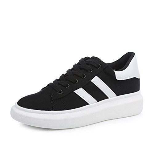 Ventilación muffin suela gruesa casuales zapatos de verano/Versión coreana del estudiante del Departamento con mayor movimiento dentro de la zapatilla A