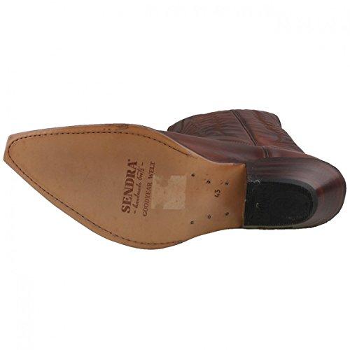2073 Sendra Boots Cowboystiefel Braun Braun qwE1a
