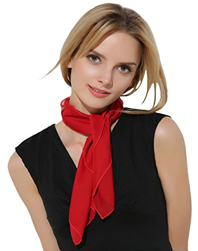 Retro Classic Red Mime Scarf (French Costume)