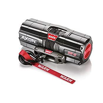 Image of ATV Winches WARN 101130 AXON 35-S Powersports Winch With Spydura Synthetic Rope