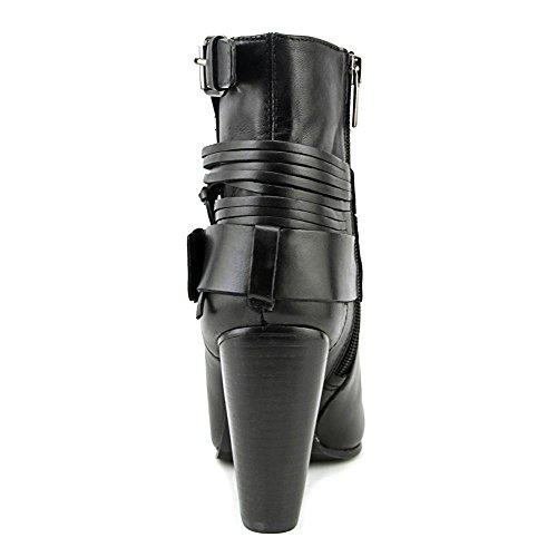 Talla RHIANNON Moda Botas de Picuda Vince Piel Mujeres Punta Black Camuto 481wPWSz