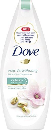 Dove Pflegedusche Pure Verwöhnung Pistazie und Magnolienduft, 6er Pack (6 x 250 ml)