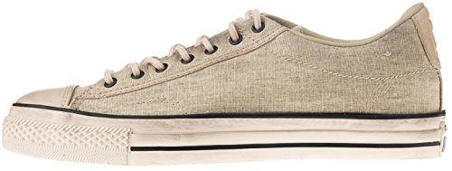 Converse by John Varvatos Distressed Canvas Vintage Slip On Sneaker Toast (8.5 D(M) US (Distressed Canvas Slip Ons Shoe)