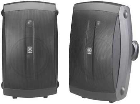 Yamaha NS-AW350B All-Weather Indoor/Outdoor 2-Way Speakers