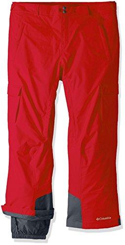 (Columbia Men's Big-Tall Ridge 2 Run II Pants, 4X/Regular, Mountain Red)