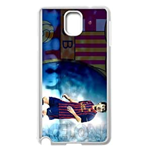 Samsung Galaxy Note 3 Cell Phone Case White Lionel Messi Phone Case Cover Protective Custom XPDSUNTR36078