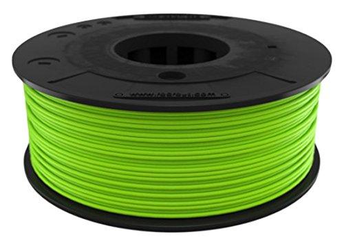 recreus fg175250 filamento elastico per stampante 3d, 1.75 mm, 250 gr, 1/2 LB, Verde 1.75mm 250gr 1/2LB Recreus Industries FG175250US