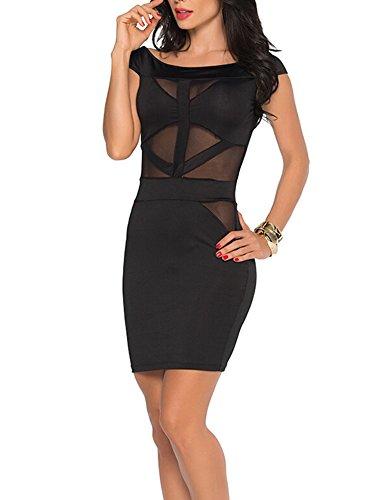 cache black halter dress - 6