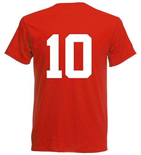 Rumänien EM 2016 T-Shirt Trikot - S M L XL XXL - rot 10