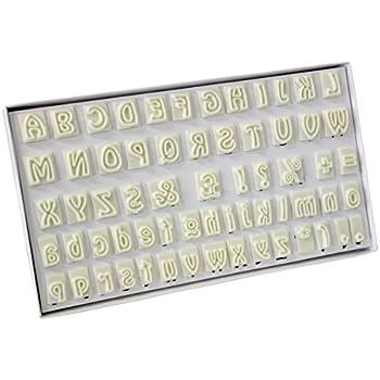 Amazon.com: Jem alfabeto cortador de plástico (64 Piezas ...