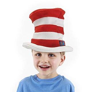 elope Dr. Seuss Toddler Cat in The Hat Fleece Hat Red