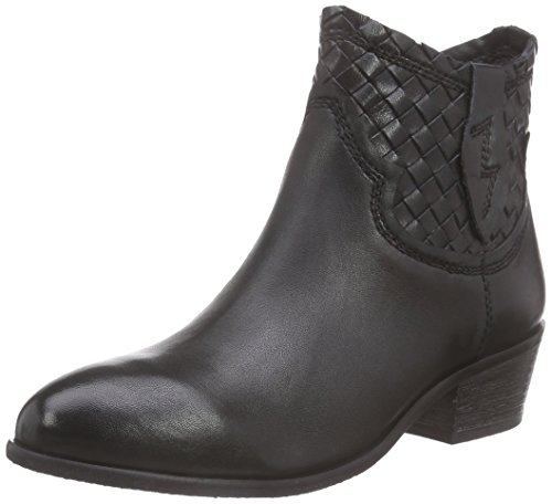 SPM Calais Ankle Boot - Botas de moto Mujer Negro - negro