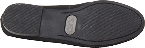 Me Stesso Womens Yale 8 Slip-on Mocassino Nero Velutto Nubuck