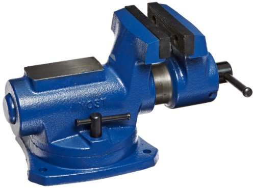 Yost RIA-4 4'' Compact Bench Vise with 360-Degree Swivel Base by Yost Tools