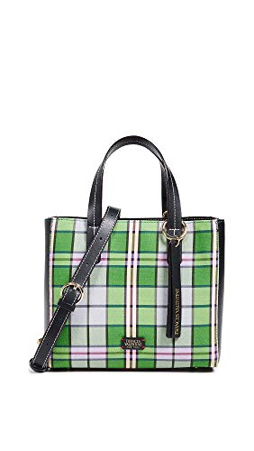 (Frances Valentine Women's Small Chloe Tote, Plaid/Multi, One Size)