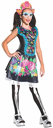Rubie's Costume Monster High Collector Series Skelita Calaveras Child Costume, Negro, Pequeño