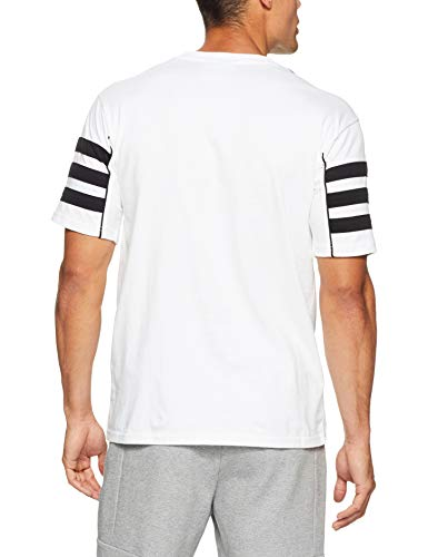 Homme T Adidas shirt Short Authentic Blanc Sleeve noir T tZZngRw1Y