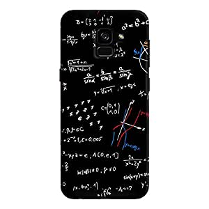 Cover It Up - Math equation print Galaxy A7 2018 Hard Case