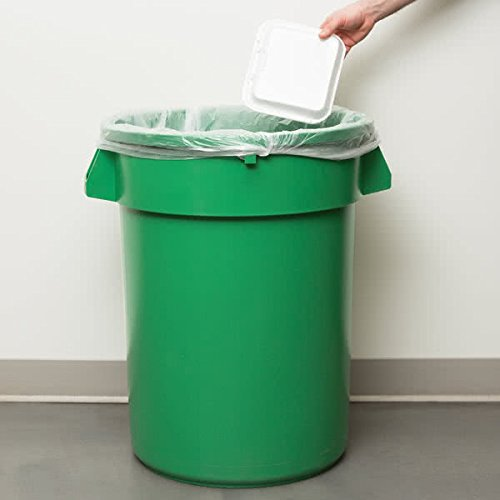 (TableTop King 3200GN Huskee 32 Gallon Green Trash Can)