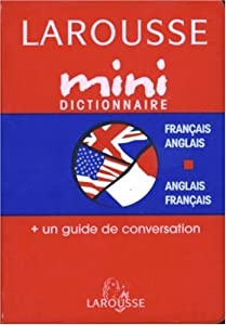 Mass Market Paperback MINI DICT.FR/AN-VV -N.C. [French] Book