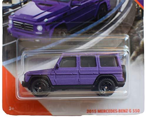 Matchbox Highway 2015 Mercedes Benz G 550 49/100, Purple