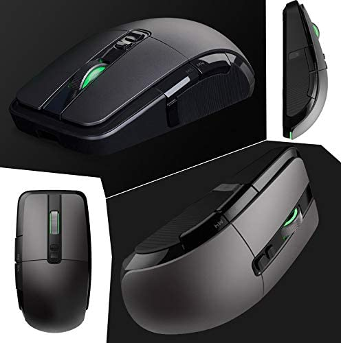 Metermall for Xiaomi Wireless Mouse Gaming USB 2.4GHz 7200DPI RGB Backlight Mouse for Laptop