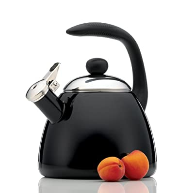 Farberware Bella 2-1/2-Quart Teakettle, Black