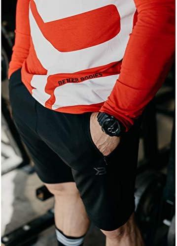 正規輸入品 ベターボディーズ (Better Bodies) パーカー メンズ 長袖 筋トレ トレーニング フィットネスウエア ジムウエア BB-M16070-710