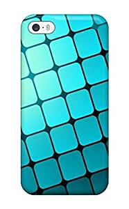 New Cute Funny Blue Grid Case Cover/ Iphone 5/5s Case Cover