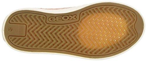 Geox Jr Ciak F, Zapatillas Para Niñas Rosa (Dk Rosec8007)