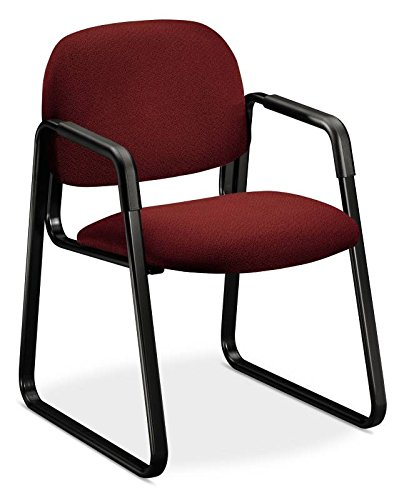 HON 4008AB62T Solutions Seating Sled Base Guest Chair, Olefin, ()