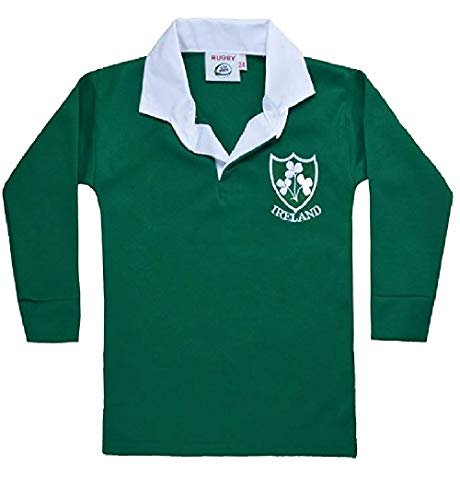 6 Complète Tops Chemises Wear nbsp;nations Rétro Green Coupe 03 Au 33 International Football Manches Ember nbsp;mois Enfants Taille De Rugby Du Pour Enfant Monde Active WxYF6cqC6