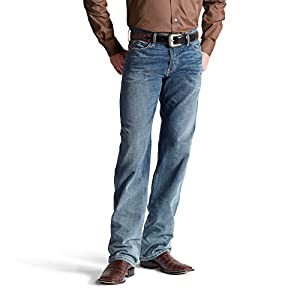ARIAT Men's M3 Loose Fit Straight Leg Jean