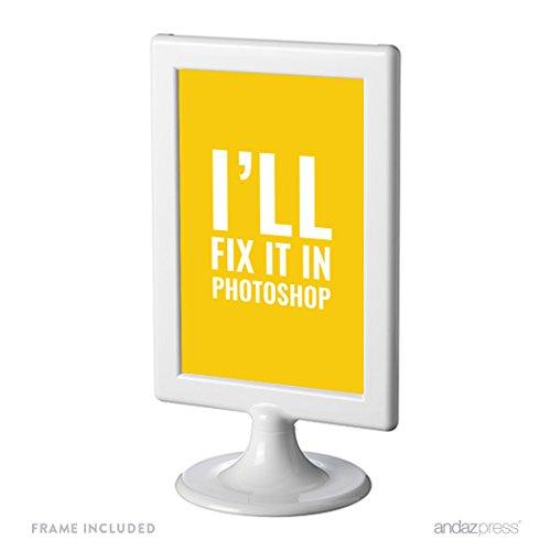 Andaz Press Office Framed Desk Art, I'll Fix It In