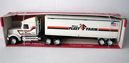 Nylint Tractor Trailer   Mills Fleet Farm    22  Long