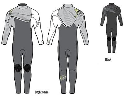 Body Glove Men's 3/2mm Prime Slant Zip Full Body Wetsuit